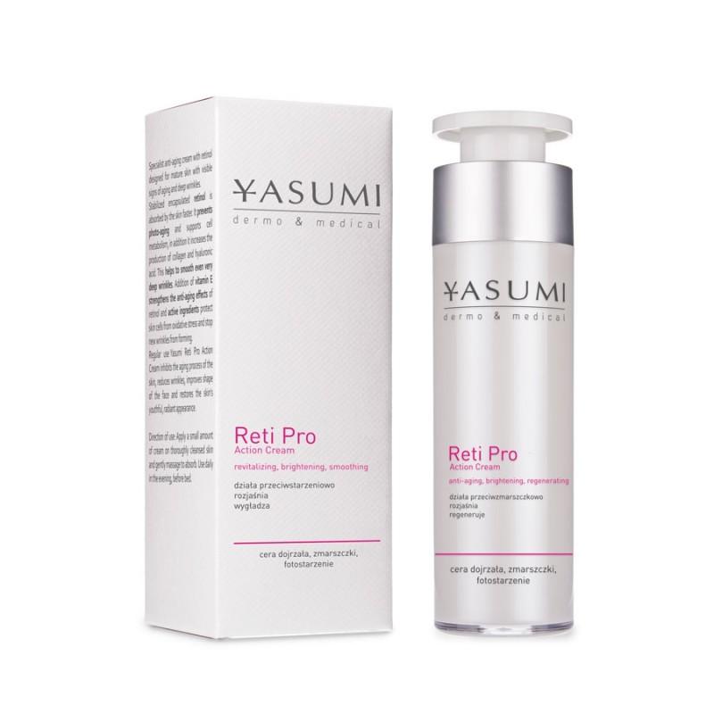 Reti Pro Action Cream - przeciwzmarszczkowy krem z retinolem