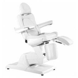 Fotel kosmetyczny elektr. Azzurro 870s pedi - biały